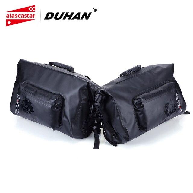 e84ddb7d7268 DUHAN Motorcycle Bag Waterproof Saddle Bags Riding Travel Luggage Moto  Racing Tool Tail Bags black Multifunction Side Bag 1 pair