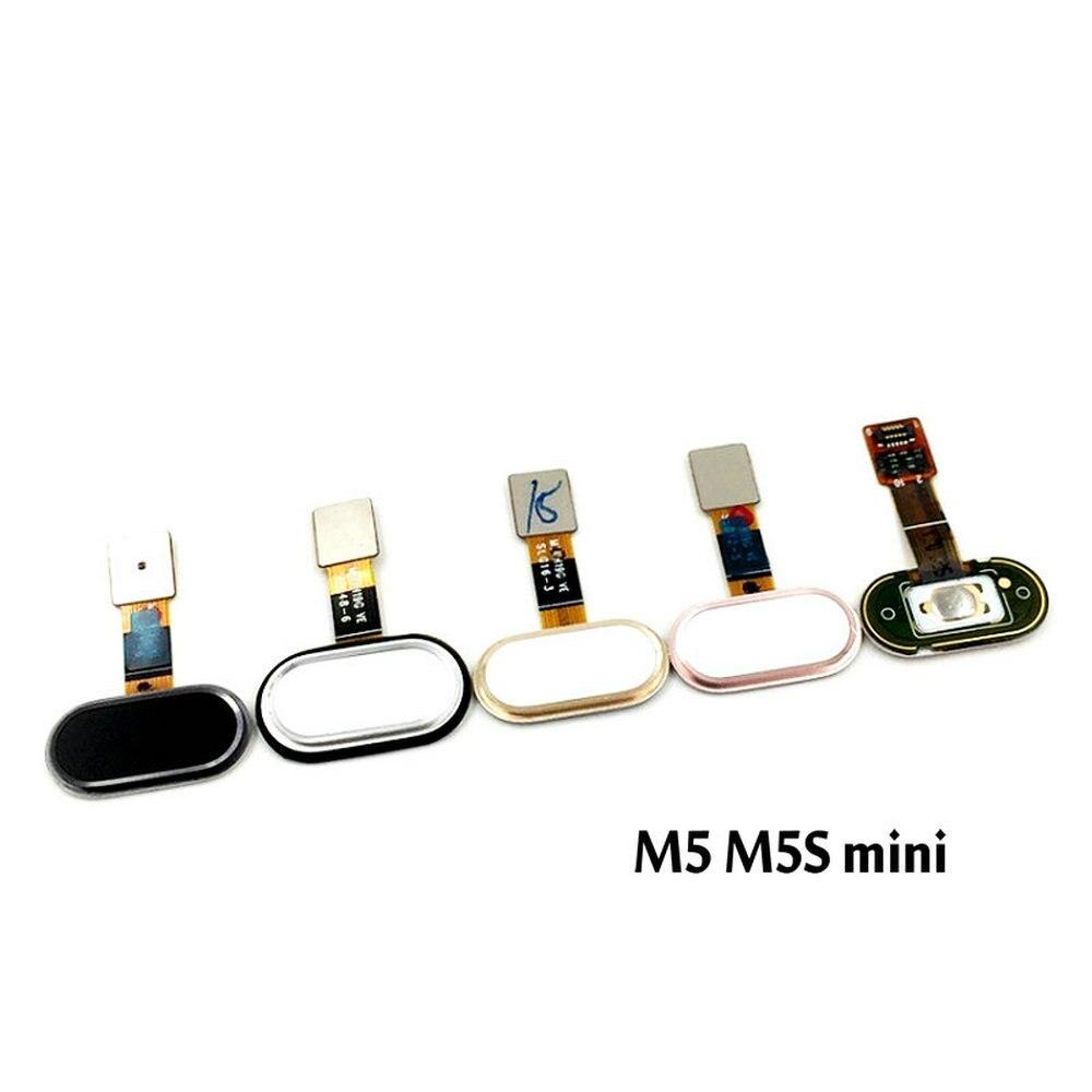 New Home Button Touch ID Sensor Key For Meizu M5 M5s Mini Replacement Parts FingerPrint Button Flex Cable