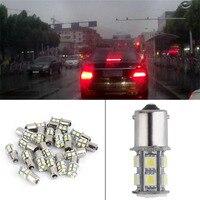 20 Pieces 7000K Car Turn Signal Brake Lights Bulb Red Light Car Interior Light Tail Reverse