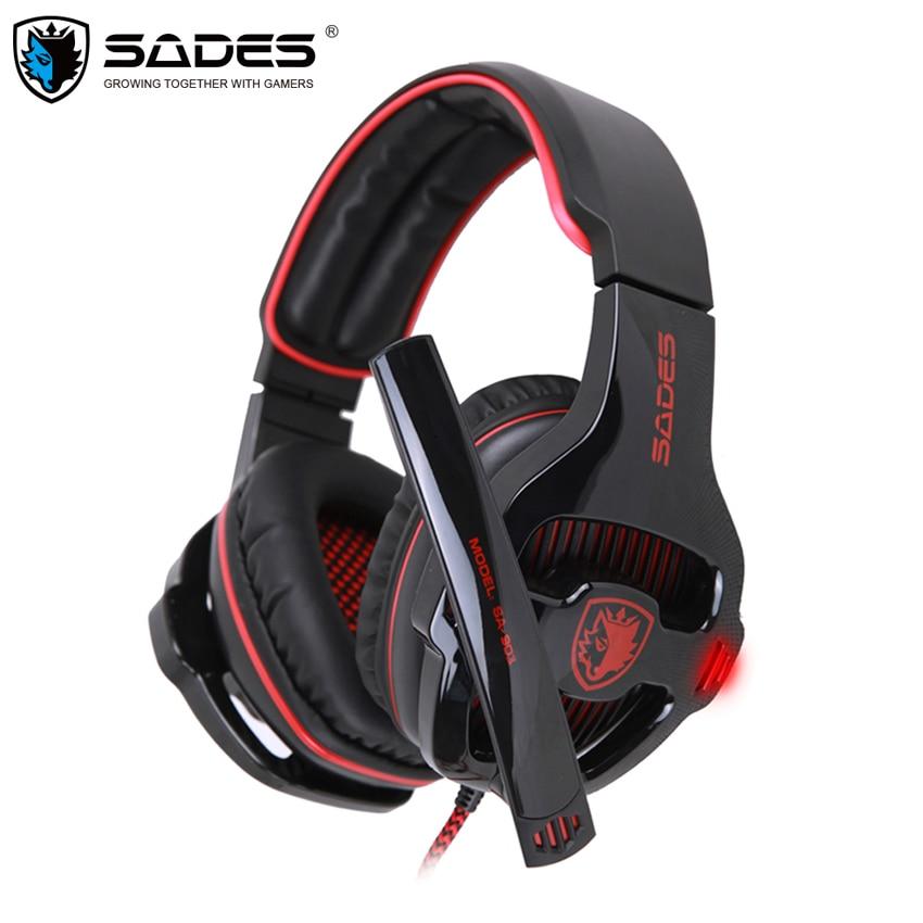 Sades SA 903 Gaming Headset font b Best b font casque 7 1 Surround Sound USB