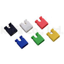 10 Pcs 2.54 Mm Pin Header Komputer Standar Jumper Blok Konektor 3 1/2 Hard Disk Drive Papan Utama Ekspansi Kartu(China)