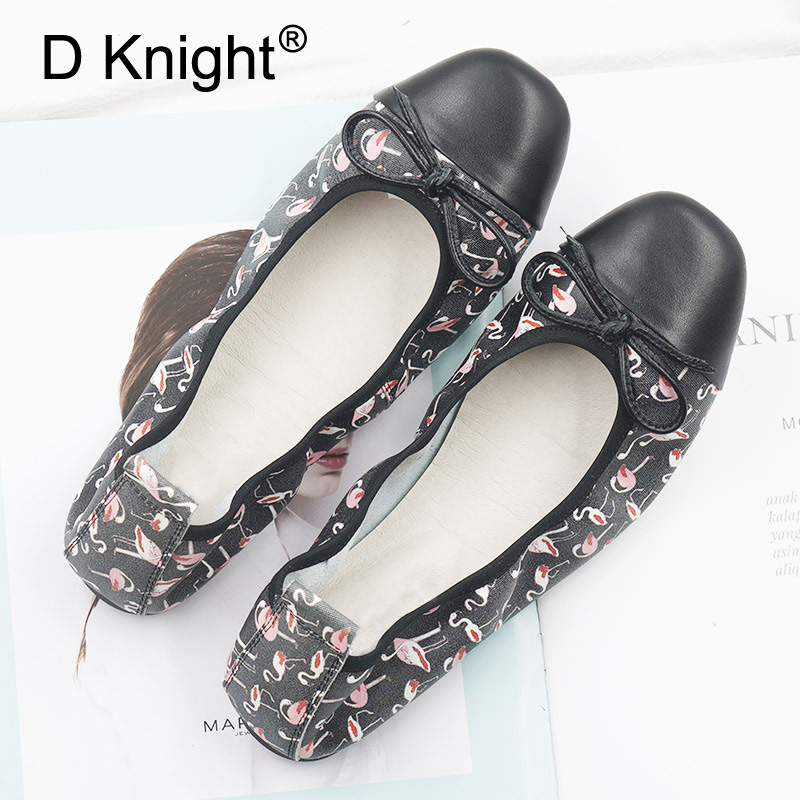 Genuine Leather Comfortable Baleriny Woman Shoes Plus Size Female Ballet Flats Spring Shallow Casual Loafer Pregnant Women Shoes aiyuqi 2018 spring new genuine leather women shoes shallow mouth casual shoes plus size 41 42 43 mother shoes female