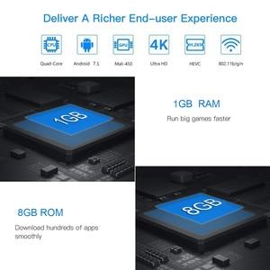Image 3 - Vmade Original Smart Mini Media Player V96S Android 7.0 Allwinner H3 H.265 Support Netflix Flixster YouTube 1GB+8GB Mini TV Box