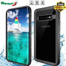 For Samsung Galaxy S10 Redpepper Waterproof IP68 Underwater 3m Life Water Proof Shockproof Hard Waterproof Case For Samsung S10 стоимость