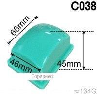 Cabezal de almohadilla de goma de silicona de 66x46mm para impresora de almohadilla