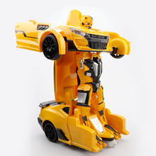 Youwant Rc Transformer 2 in 1 RC Car Drive Transformation Robots Models Remote Control Fighting Toy Gift For Kids