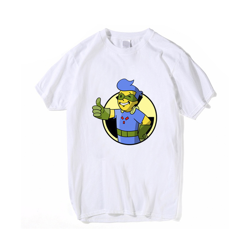 Wholesale Summer Round Neck Short Sleeve Breathable t-shirt vault boy Print For Men Women Loose Casual Hip Hop Pullover T shirts