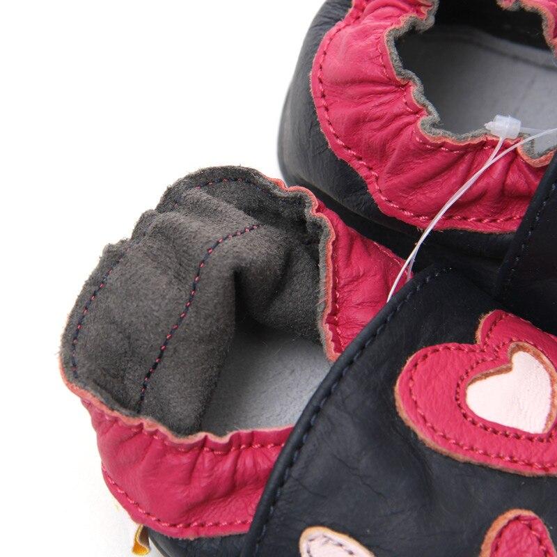 Babyschuhe Mädchen Jungen Leder Babyschuhe Erste Wanderer - Babyschuhe - Foto 5