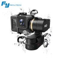 Feiyutech Feiyu wg2 носимых монтируемый 3 оси Водонепроницаемый Gimbal стабилизатор для GoPro 6 4 5 Session Yi 4 К SJCAM AEE действие Камера