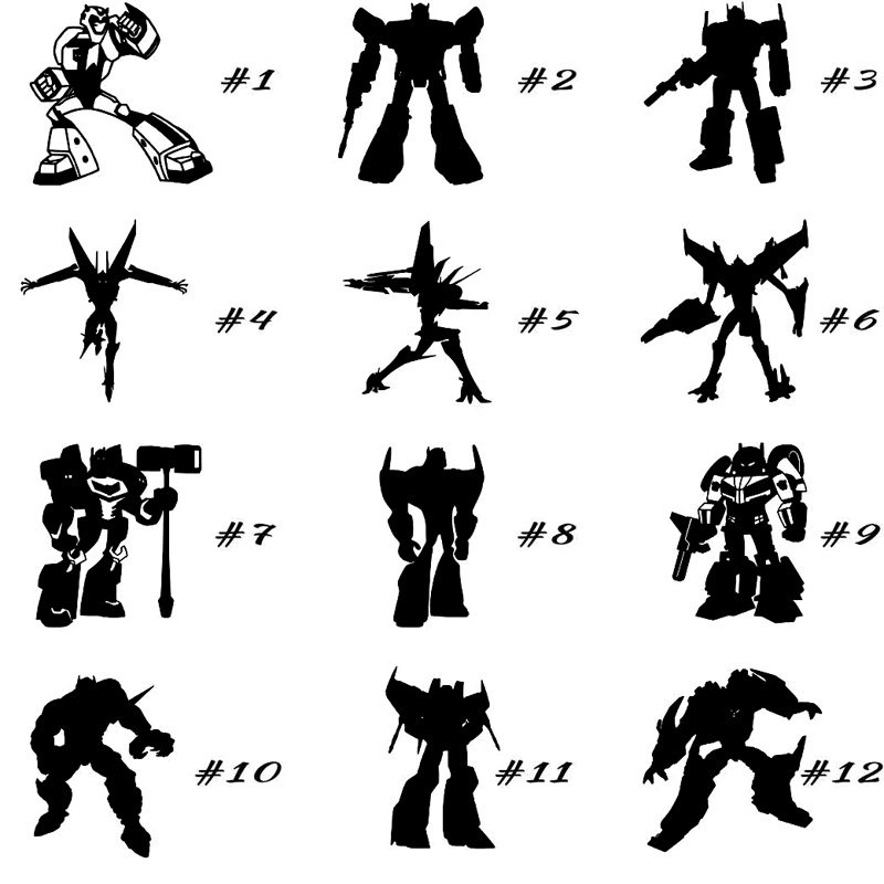 Aliexpresscom Buy Personalized Custom Car Stickers Transformers - Custom motorcycle stickers images