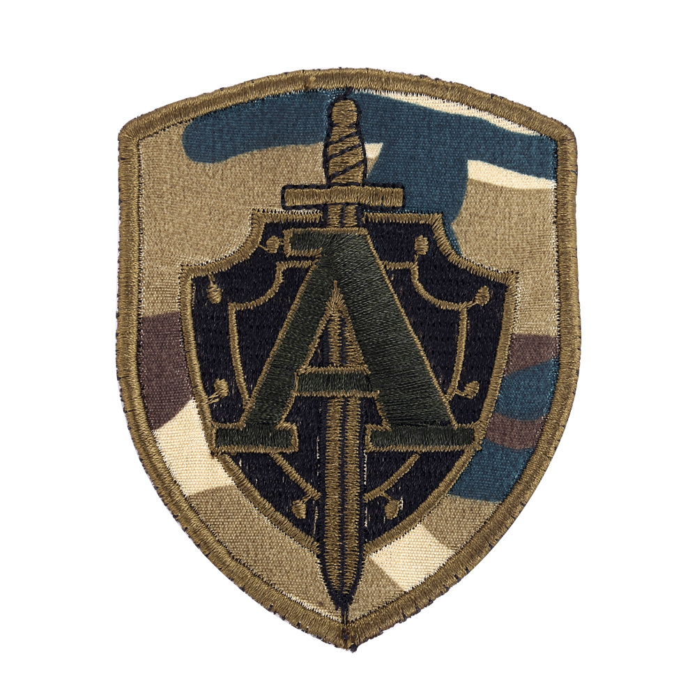 Russian CSN FSB Alfa Group Hook PatchTactical Morale Military Badge Desert