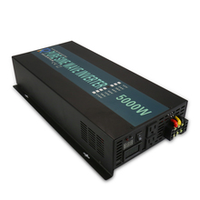 цена на LED Display 5000W pure sine wave inverter (12v/24v/48v  to100v/110v/120v/220v/230v/240v output) off-grid pure sine wave inverter