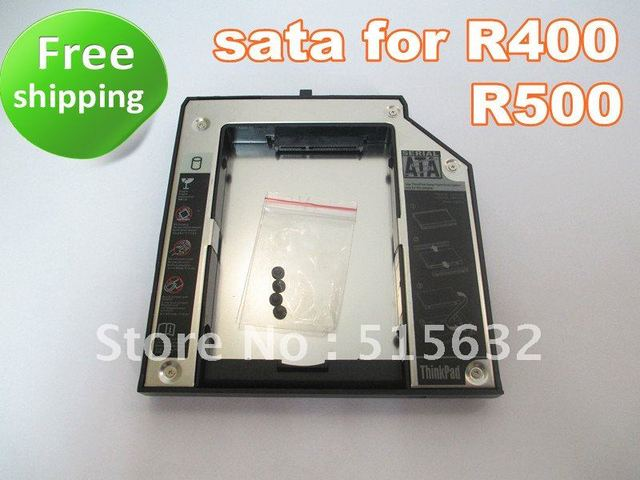 New 2nd SATA Hard Drive Bay Caddy 12.7MM for R400 R500 W520 W700
