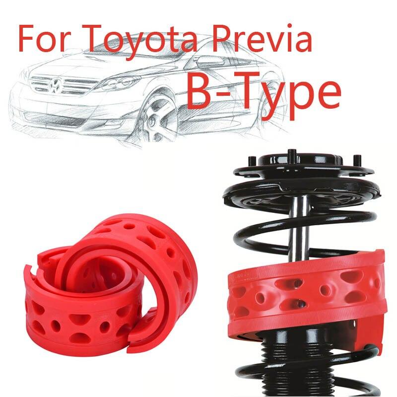 Jinke 1 paire taille-B amortisseur arrière SEBS pare-chocs puissance coussin amortisseur ressort tampon pour Toyota Previa
