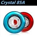 [Cristal Roda] 8 Pçs/lote 85A Slalom FSK Patins Inline Roda de Rua, alta De Cristal Transparente Elástico Durável 80mm 76mm 72mm