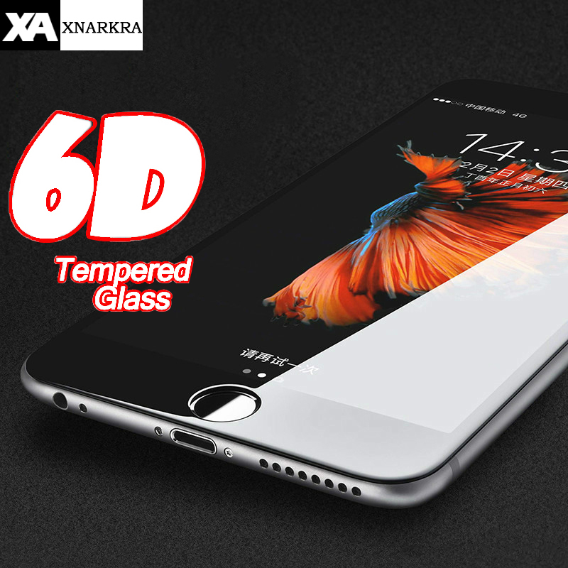 6D Full Cover Protective Glass For iPhone 7 8 6 6s Plus Screen Protector Tempered Glass For iPhone X XR XS MAX Film Protection6D Full Cover Protective Glass For iPhone 7 8 6 6s Plus Screen Protector Tempered Glass For iPhone X XR XS MAX Film Protection