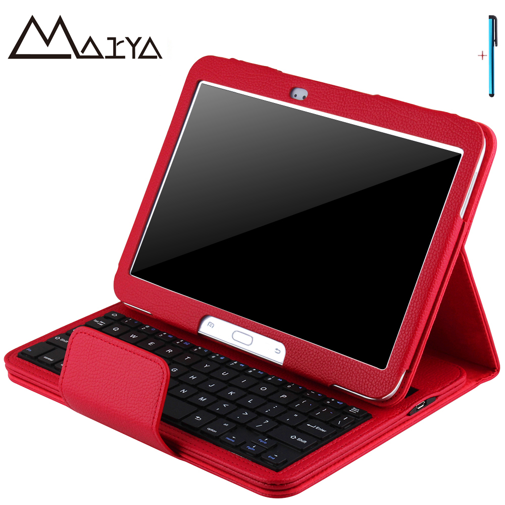 Keyboard For Samsung Galaxy Tab 3 10.1 P5200 P5210 Tablet Case Removable Wireless Bluetooth Flip Stand PU Leather For Tab 3 10.1 pu leather case cover for samsung galaxy tab 3 10 1 p5200 p5210 p5220 tablet