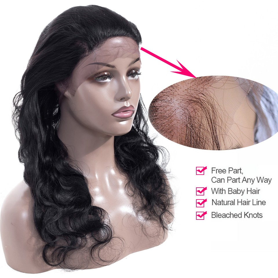 body wave human hair frontal closure 360 frontal lace closure  (7)
