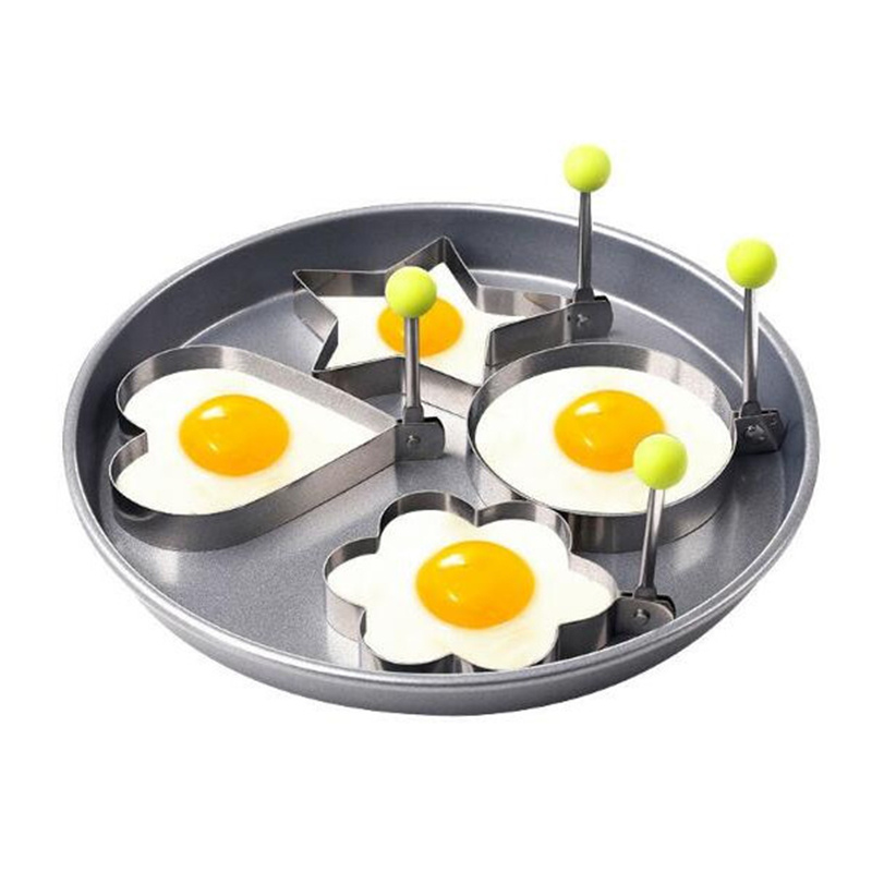 Acier Inoxydable Omelette Moule Bakeware Cuisine Outils ménagers Egg Mold