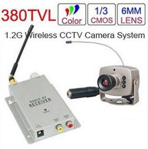 Free Shipping 1 2ghz Wireless Mini Camera Video Receiver