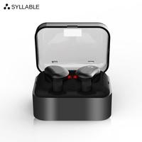 SYLLABLE D9 TWS Wireless Bluetooth Earphones True Stereo Earbud Waterproof Headset For Phone HD Communication Portable