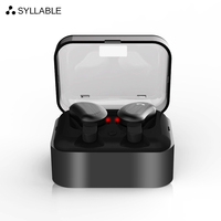 SYLLABLE D9 TWS Wireless Bluetooth Earphones True Stereo Earbud Waterproof Headset For Phone HD Communication Portable