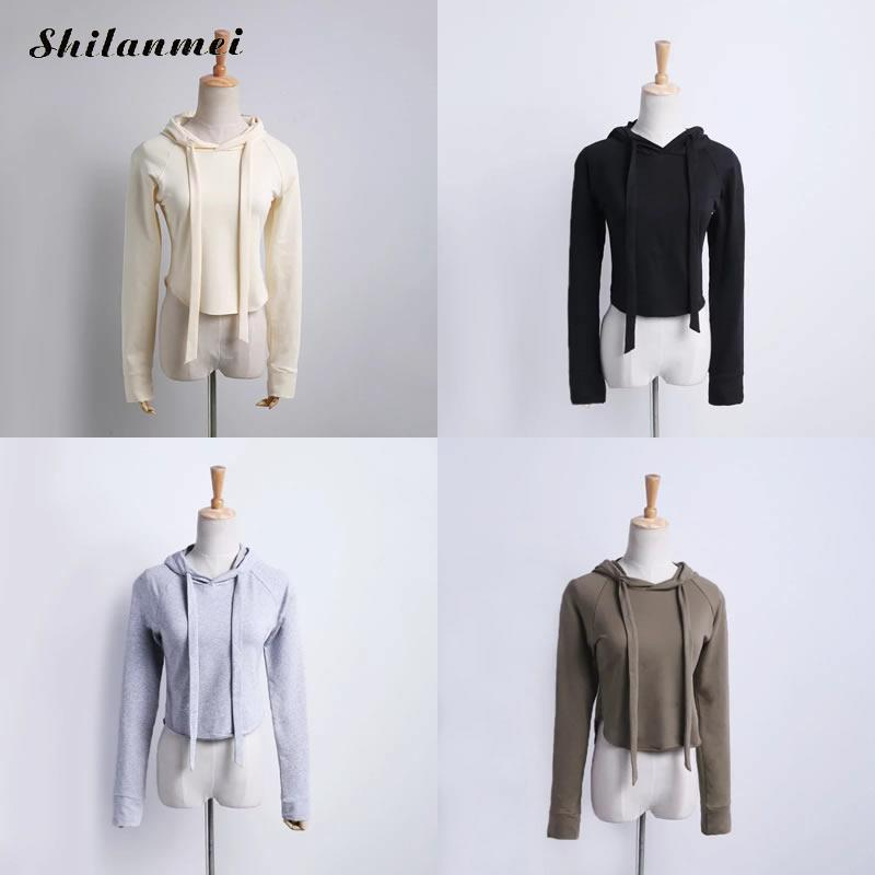 Women hodie Sweatshirts pullover double long layers four color high quality cheap price S/M/L/XL spcial silhouette fashion new