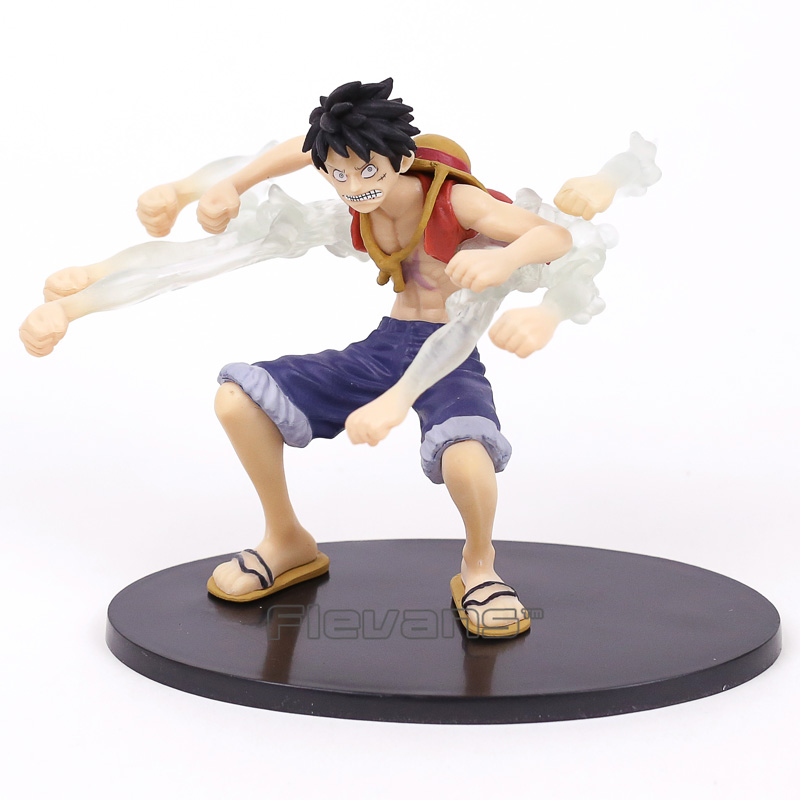 Anime One Piece Gear Fourth Monkey D Luffy Fighting Ver. PVC Figure Toy 14cm