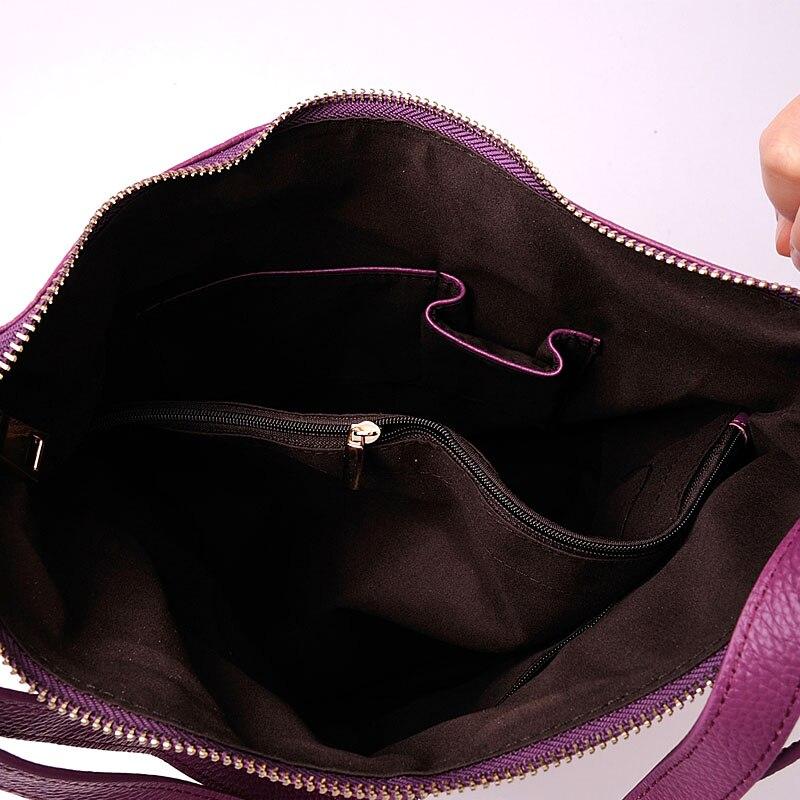 Fashion Designer kotid naistele Lehmakaitse nahast käekott 100% - Käekotid - Foto 6