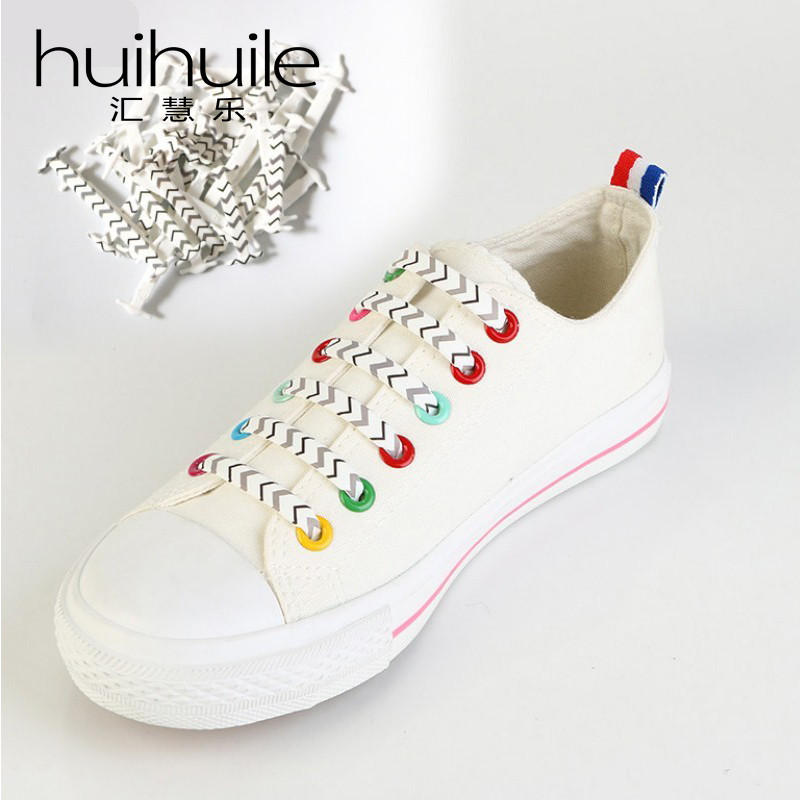 16pc/Set Hot Sale Silicone New Fashion Flower Design Lazy No Tie Shoelaces Shoe Laces Running Sneakers Fit Strings Free Shipping free shipping hot sale lazy man instant sofa
