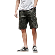 Summer Cargo Shorts Men Cool Camouflage Camo Cotton Casual Short Pants Brand Clothing Hot Sale Comfortable