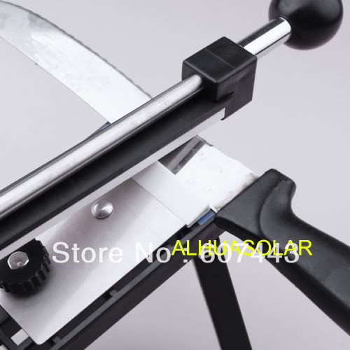 Professional Kitchen Knife Sharpener System Fix-angle Sharpening Frame 4 Stones