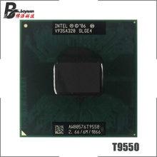 Intel Core 2 Duo T9550 SLGE4 2.6 GHz Dual-Core podwójny z gwintem procesor CPU 6 M 35 W gniazdo P