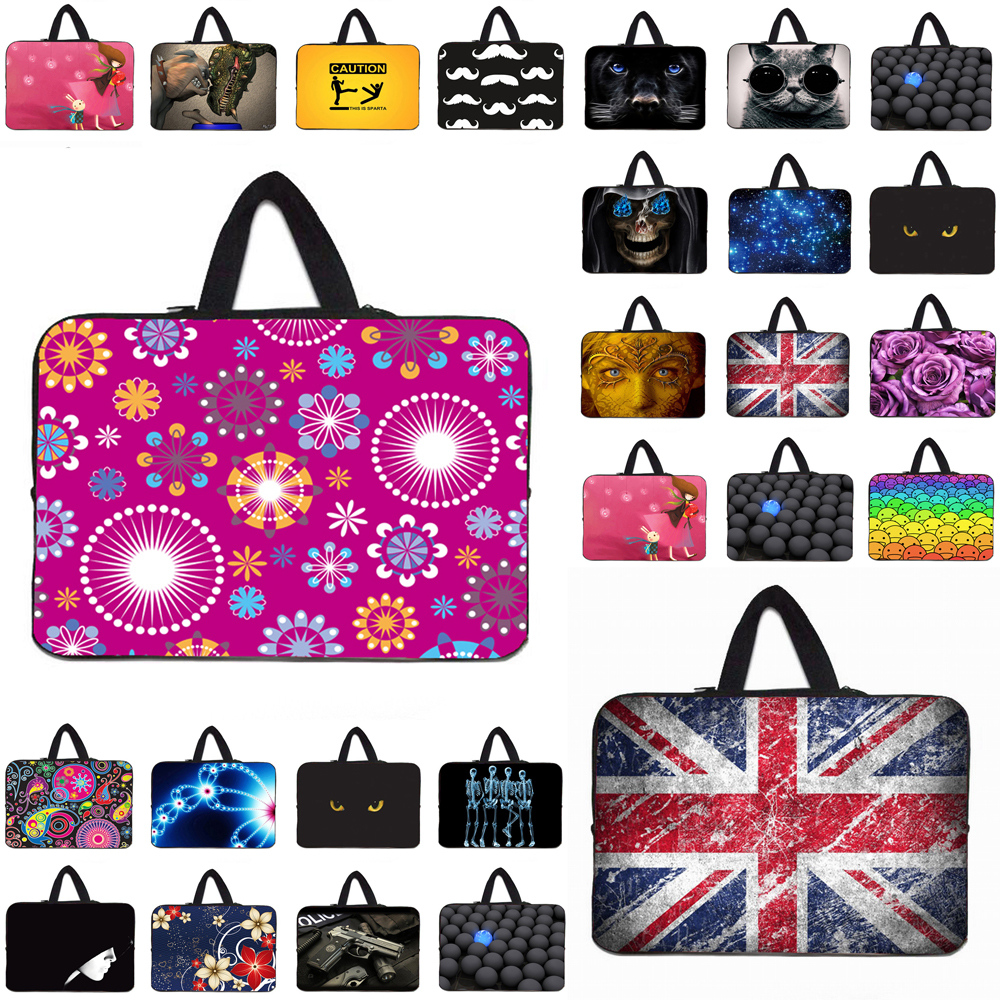 13.3-Inch to 14-Inch Laptop Sleeve Case Neoprene Carrying Bag with Hidden Handle