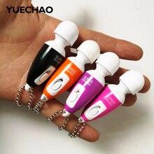YUECHAO Mini vibrator Egg Bullets Clitoral G-Spot Stimulators magic AV Wand Vibrating Massager Stick for Women Masturbation