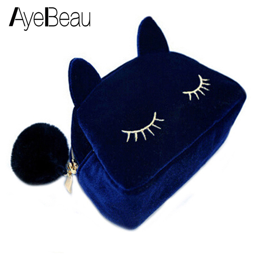 Cat Clutch Pencil Phone Zipper Cute Kawaii Change For Kid Girl Baby Children Lady Women Coin Purses Case Wallet Female Bag Pouch