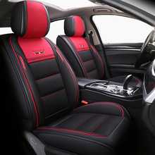 (Front+Rear)Leather&Flax auto seat covers for kia Sportage 2 3 4 2006 2009 2011 2012 2013 2014 2015 2016 2017 2018 Stinger