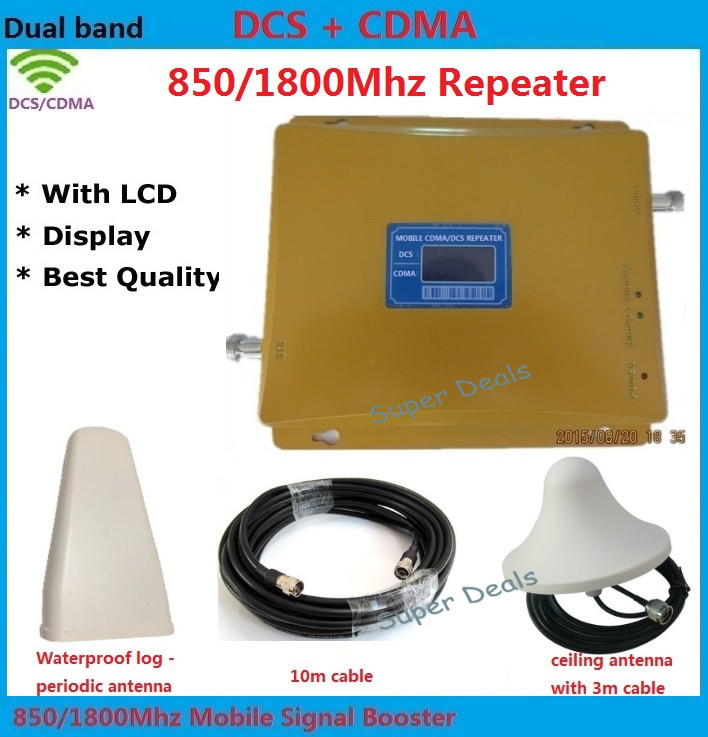 2G 4G signal amplifier 850Mhz 1800Mhz cellphone signal booster CDMA DCS mobile signal repeater LTE 4G amplifiers + omni antenna2G 4G signal amplifier 850Mhz 1800Mhz cellphone signal booster CDMA DCS mobile signal repeater LTE 4G amplifiers + omni antenna