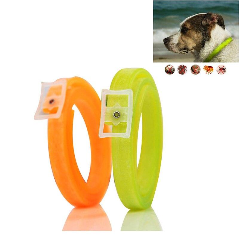 Adjustable Dog Collar Anti Flea and Tick Pest Lice Plastic Pet Cat Collar Waterproof Non-toxic No Insecticide S M L