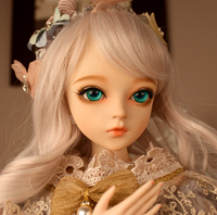 New Arrival Full Set SuDoll BJD 1/3 charming girl doll Free Eyes wig clothes all included Doll