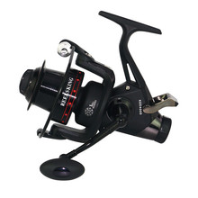 KGG3000-6000 Pre/Post-Loading Spinning Long Casting Fishing Reel 5.2:1 Lure Fishing Wheel 13+1BB Double Loading Metal Spool Reel