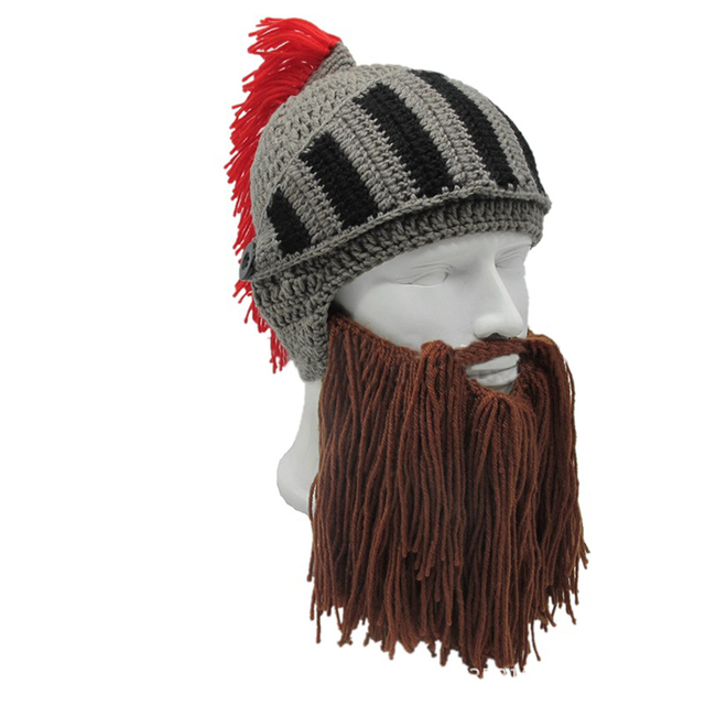 Funny armor style hat for men
