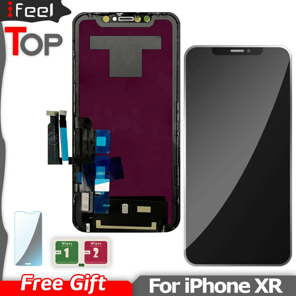 For iPhone XR LCD Display + Touch Screen Digitizer Assembly Replacement For iPhone XR LCD No Dead PixelFor iPhone XR LCD Display + Touch Screen Digitizer Assembly Replacement For iPhone XR LCD No Dead Pixel