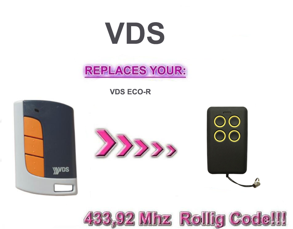 Handsender VDS ECO-R