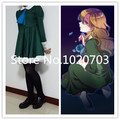 Ib Mary cosplay Costume Dress,bowtie,socks