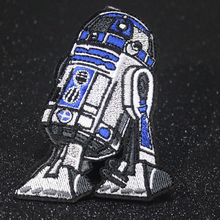 Pulaqi Star Wars Patch Embroidered Patches For Clothes Stickers Stripes 3D Cartoon Iron On Clothing Applique F