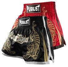 Calções tiger Muay Thai calções luta de MMA shorts Boxer PUGILISTA TRONCOS calções de treino de BOXE