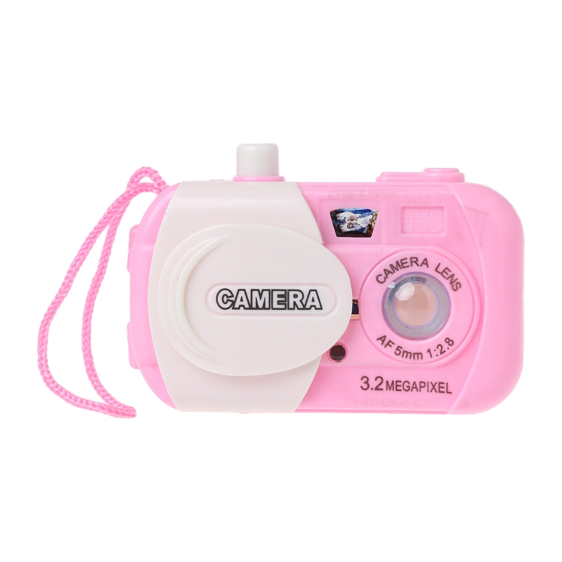Drop ShiP Projection Digital Camera Toy Educational Toy Simulation Play Toys Gift For Kids