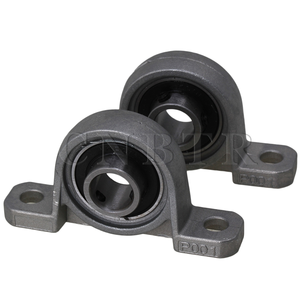 Bearing Machine Us 7 25 Cnbtr 2 X Machine Axle Mounted 12mm Bore Ball Self Align Kp001 Pillow Block Bearing In Shafts From Home Improvement On Aliexpress