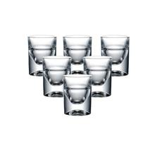 Lot de 6 pièces lourd sans plomb Machine fait des verres à liqueur pour noël cadeau liqueur Vodka spiritueux boissons chinois Baijiu whisky 15ml